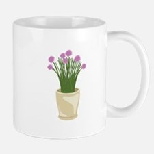 Potted Chive Plant Mugs