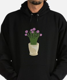 Potted Chive Plant Hoodie
