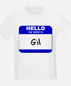 hello my name is gil T-Shirt