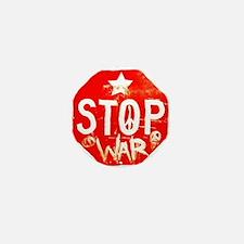 Stop War Mini Button