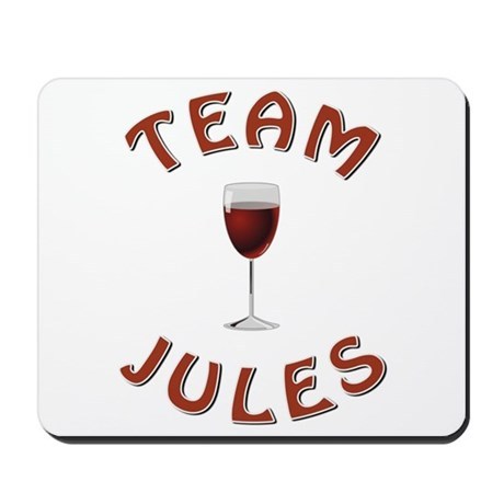 TEAM JULES Mousepad