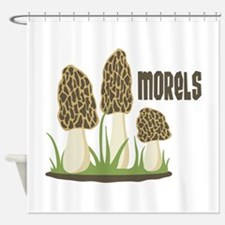 MORELS Shower Curtain