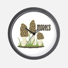MORELS Wall Clock