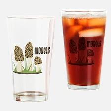 MORELS Drinking Glass