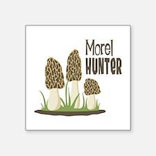 Morel Hunter Sticker