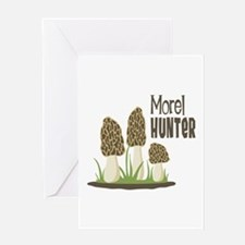 Morel Hunter Greeting Cards
