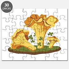 Chanterelle Mushrooms Puzzle
