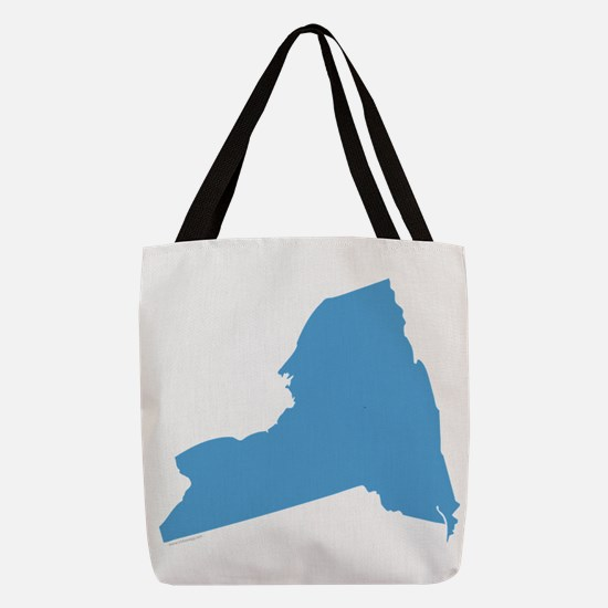 Need York Stat Shape Polyester Tote Bag