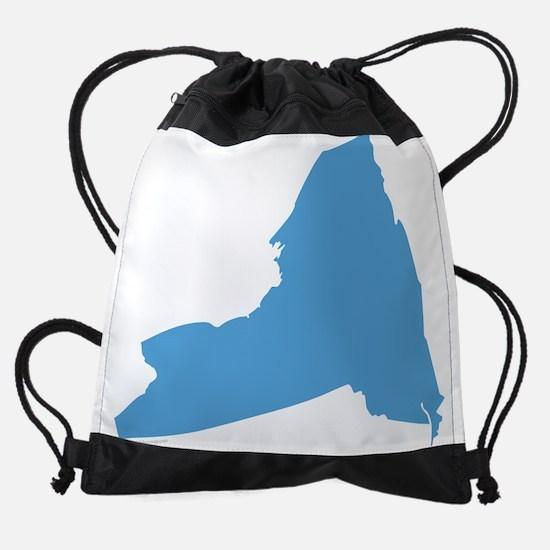 Need York Stat Shape Drawstring Bag