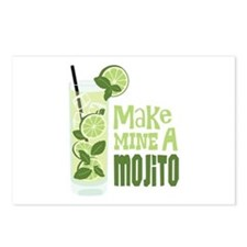 Make MINE A Mojito Postcards (Package of 8)