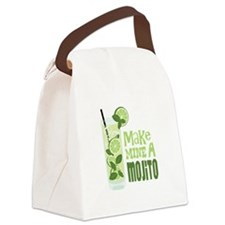 Make MINE A Mojito Canvas Lunch Bag