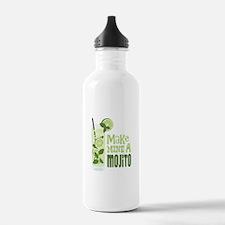 Make MINE A Mojito Water Bottle