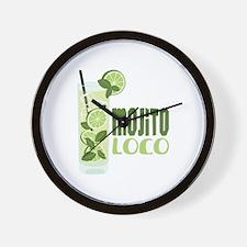 Mojito LOCO Wall Clock