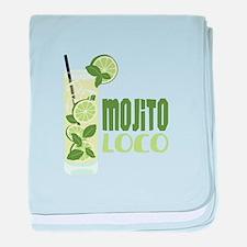 Mojito LOCO baby blanket