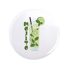 """MOJITO 3.5"""" Button (100 pack)"""