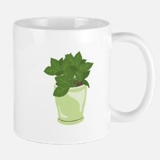 Potted Mint Plant Mugs