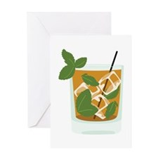 Mint Julep Greeting Cards
