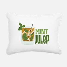 MINT Julep Rectangular Canvas Pillow