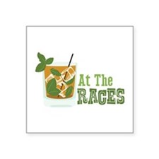 At The RACES Sticker