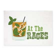 At The RACES 5'x7'Area Rug