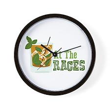 At The RACES Wall Clock