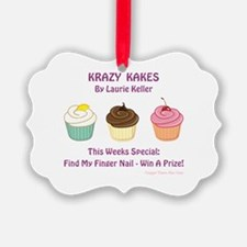 KRAZY KAKES Ornament