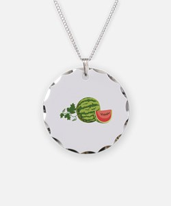 Watermelon Vine Necklace