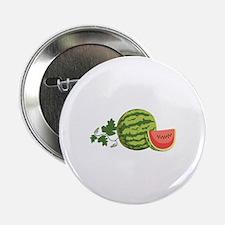 """Watermelon Vine 2.25"""" Button"""