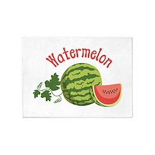 Watermelon 5'x7'Area Rug