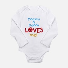 Mommy & Daddy Loves Me Body Suit