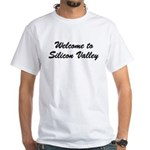 The Valley White T-Shirt