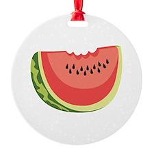 Watermelon Slice Ornament
