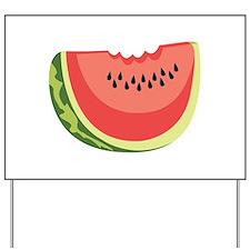 Watermelon Slice Yard Sign