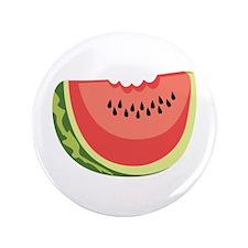 """Watermelon Slice 3.5"""" Button"""