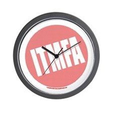 ITMFA - Red Spots Wall Clock