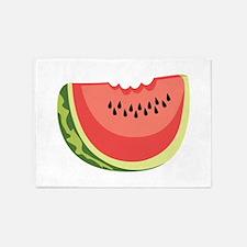 Watermelon Slice 5'x7'Area Rug