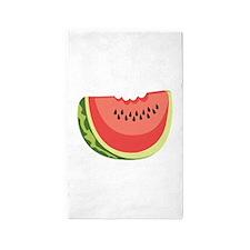 Watermelon Slice 3'x5' Area Rug