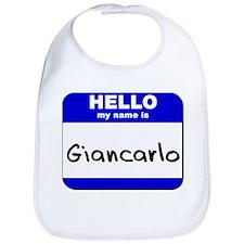 hello my name is giancarlo  Bib