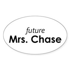 Future Mrs. Chase Oval Decal