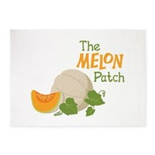 The MELON Patch 5'x7'Area Rug