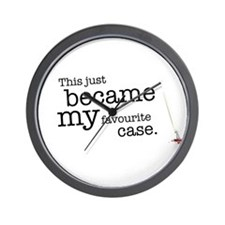 My favourite Case Wall Clock