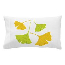 Ginkgo Leaves Art Nouveau Pillow Case