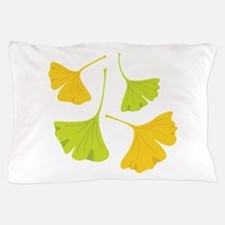 Ginkgo Leaves Art Nouveau Pillow Case