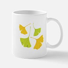 Ginkgo Leaves Art Nouveau Mugs