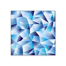 """cold as ice Square Sticker 3"""" x 3"""""""