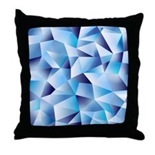 cold as ice Throw Pillow