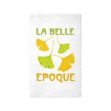 LA BELLE EPOQUE 3'x5' Area Rug