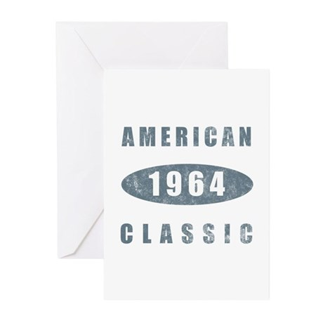 1964 American Classic Greeting Cards (Pk of 20)
