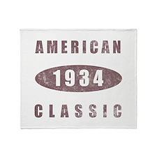 1934 American Classic Throw Blanket