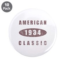 "1934 American Classic 3.5"" Button (10 pack)"